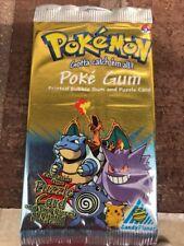 1999 POKEMON POKE gum & 1 Puzzle Card Sealed #3