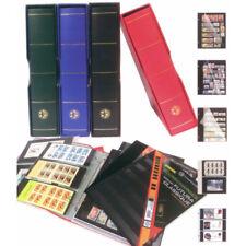 Album Futura Classique garni de 20 Eco-recharges à 6 bandes pour timbres-poste.