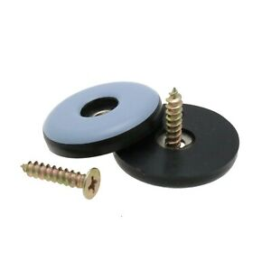 16 Pack Screw On Teflon Glides, PTFE Glides, Screw Glide For Chairs & Appliances