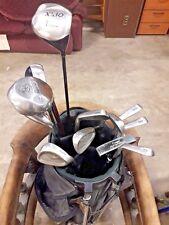 14 Golf Clubs (Various Mostly Cobra)  + Bag