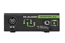 M-Audio Midisport 2X2 Midi Interface, 2-in/2-out USB Bus-Powered MIDI Interface