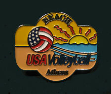 2004 ATHENS Olympic USA Olympic Beach Volleyball Team NOC Internal sunset pin
