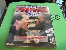 Total Control Football (PC, 1996) - Retail Box - PC GAME - DOS / WIN 95