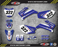 Full Custom Graphic Kit PREMIERE STYLE Yamaha TTR 110 decals stickers