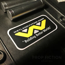 Aliens - Prop Weiland-Yutani 'Building Better Worlds' Sticker / Equipment Decal