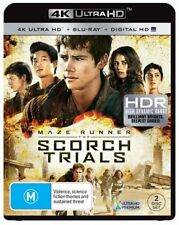 The Maze Runner - Scorch Trials 4K Blu-Ray UHD : NEW 4K Ultra HD