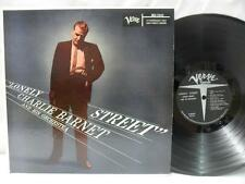 CHARLIE BARNET AND HIS ORCHESTRA LP: Lonely Street, NM Verve