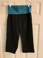 Victoria Secret Pink Cropped Yoga Pants Size XS