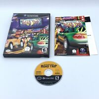 Road Trip: The Arcade Edition (Nintendo GameCube, 2004) COMPLETE With Manual