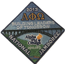 2013 Boy Scout National Jamboree Eagle Scout / Alpha Phi Omega Patch 2017 Jambo