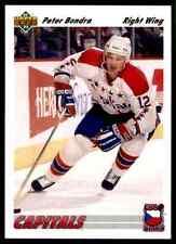 1991-92 Upper Deck Euro-Stars  Peter Bondra #E12