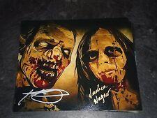 Kent + Veronic Wagner The Walking Dead Autographed Authentic 8x10 Walker #2 Art