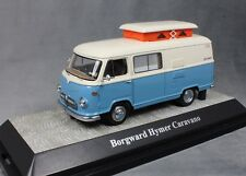Premium ClassiXXs Borgward Hymer Motorcaravan in Blue & White 18038 1/43 Ltd 750