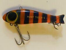 Hump Tiger - 1 , Vintage Texas Bingo Era Fishing Lure