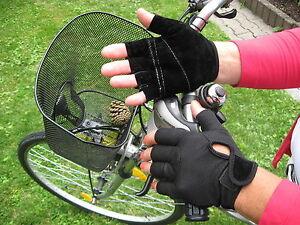 BICYCLE  Fahrrad  Handschuhe  Gr. - M   schwarz