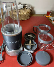 HEALTHY LIVING nutribullet Magic Bullet With All Attachments IN GREAT SHAPE .SEE