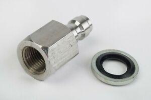 Quick Coupler Plug for airgun filling adaptors