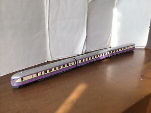 PIKO HO Diesel train VT 137 (SVT)  DR. 3 sections.