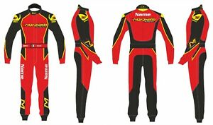 Maranello kart  printed go kart racing suit,In All Sizes