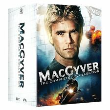 Macgyver: Complete Collection Seasons 1 2 3 4 5 6 7 + Movies Boxed/DVD Set NEW!