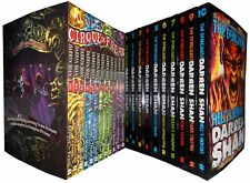 Saga Of Darren Shan Series Collection 22 Books Set Pack Demonata Cirque du Freak