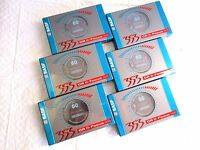 CASSETTE TAPES BLANK SEALED - 6 x (six)  BASF 353 CR II FOCUS 60 [1994-1995]