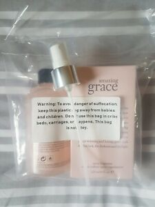 Philosophy amazing grace eau de toilette & shimmer body spritz 240ml bn £40