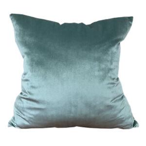 CURCYA Velvet Cushion Covers Car Sofa Luxury Throw Pillow Cover Case Home Decor