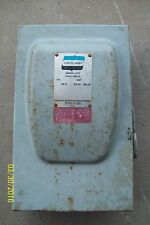 CROUSE HINDS DF422A SAFETY DISCONNECT SWITCH 120/240 VOLT 60 AMP