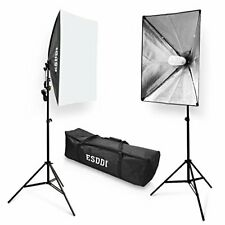 Softbox Studio Lights 800W with 5500K Soft Lighting kit, Continuous Lightihing