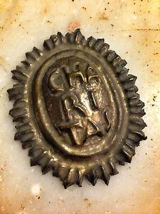 6x5 cm Stemma Scudo San Francesco di Paola ordine Charitas Santi Santon Statue