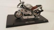 Motorrad Modell MZ 1000S silber Ixo Altaya 1:24