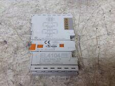 Beckhoff EL4104 4 Point Analog Output Module 16 Bit 0-10 V