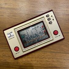 NINTENDO GAME WATCH chef /Used / Model number FP-24 1981