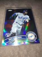 2011 Topps Chrome Dee Gordon LA Dodgers Rookie Chrome Refractor Card #212 MINT