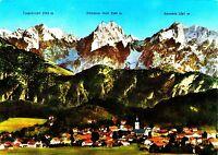 Oberaudorf am Inn mit Kaisergebirge ,Ansichtskarte, 1976 gelaufen