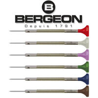Bergeon 30081 Watchmaker's Flat Head Screwdriver with Swivel Head Swiss Made