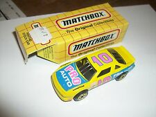 Matchbox Pontiac Stock Car Pro Auto Mb35 W/Box
