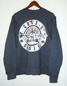 GUNS N ROSES Band Sweatshirt APPETITE For DESTRUCTION Vtg Fleece Shirt : MD