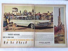 1960 Buick Invicta Estate Wagon Stan Galli  Monument Park Magazine Print Ad