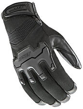 JOE ROCKET MENS ECLIPSE  MESH BLACK  MOTORCYCLE GLOVES  LARGE  TOUCH FINGER
