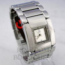 Nuevo Y Elegante 100% Original Reloj Guess Plata Señoras g84012l1