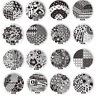 Pattern DIY Nail Art Image Stamp Stamping Plates Manicure Template Nail Sticker