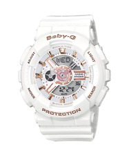 Brand New Casio G-Shock Baby-G BA110-LB White Gold Digital Watch MSRP: $120.00