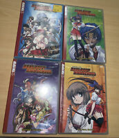 Samurai Girl Real Bout High School Limited Edition Set Of 4 DVD,s Tokyopop