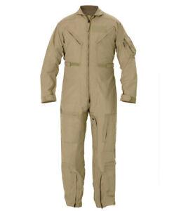 Propper Size 34L CWU 27/P NOMEX Air Force Tan Flight Suit.