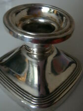 835 Silver silberkerzenständer Antique Silver Candle Holder