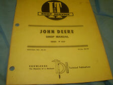JOHN DEERE IT I&T SERVICE MANUAL TRACTOR 4520 JD-31