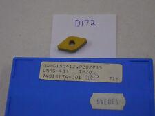 10 NEW SECO DNMG 433 CARBIDE INSERTS. DNMG 150412.  GRADE: TP20 {D172}