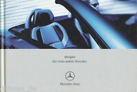 Mercedes Designo Prospekt 2001 4/01 Ausstattung Sonderausstattung brochure Auto